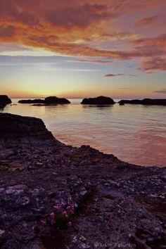 Sunset, Ballintoy Harbour