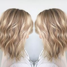 This Sandy Blonde is perfection. Who's ready for the beach? Follow @hairbybradleyleake