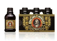 intricate beer label design | Howling Monkey