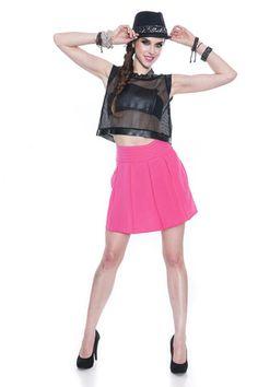 High Waist Pleated Skirt – Reviled
