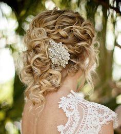 Brides woven half up chignon curls bridal hair ideas Toni Kami Wedding Hairstyles Swarovski pin Romantic Bridal Updos, Hair Inspiration, Wedding Inspiration, Wedding Ideas, Rustic Wedding, Wedding Blog, Wedding Pictures, Wedding Venues, Wedding Hair And Makeup