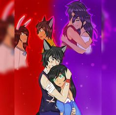What is this? I haven't been able to watch aphmau for 2 months what's happening?? I'm crying << omg, you've missed so much