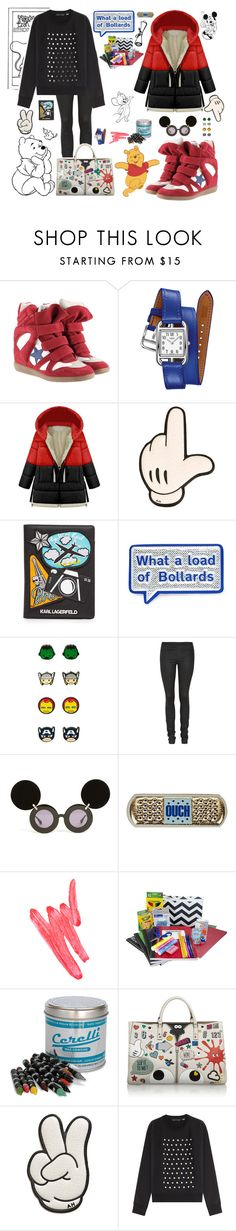"""Walk around the world like a coloring book."" by petitemia ❤ liked on Polyvore featuring Isabel Marant, Hermès, Anya Hindmarch, Karl Lagerfeld, Helmut Lang, Linda Farrow, Ilia, Seletti, Aish and Marc by Marc Jacobs"