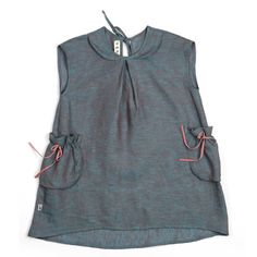 a29f93efe7ac4 love those little pockets- could be cute on an adult dress Baby Couture