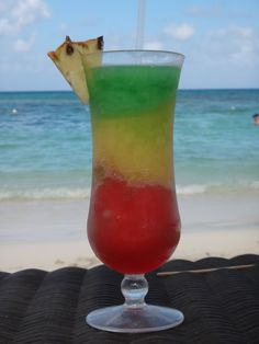 Bob Marley - Frozen Cocktail (Secrets St. James) Montego Bay Jamaica