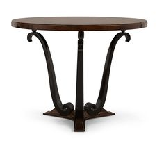 """Christopher Guy :: Navour 76-0185 Ground Flr Master Bedroom Dining Table 39""""diam"""