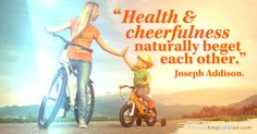 When you choose health and fitness, you're also choosing happiness.