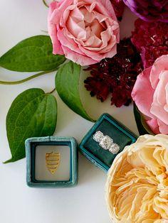 Emerald Green Ring Box  // The Mrs. Box