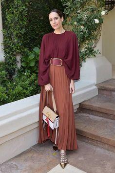 Wohltätigkeitsveranstaltung von Valentino in Los Angeles - Sommer Outfits Modest Fashion, Hijab Fashion, Fashion Outfits, Womens Fashion, Fashion Trends, Fashion Weeks, Fall Outfits, Summer Outfits, Casual Outfits