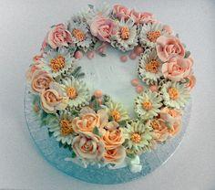 Snow rose cake | Flickr: Intercambio de fotos