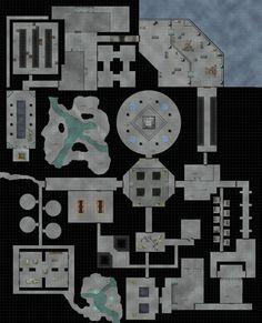Underground Ruins Battle Map