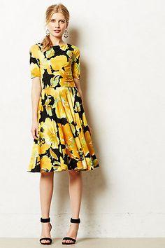 Sunblossom Dress #anthropologie