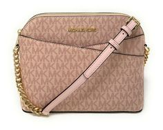 """Michael Kors Jet Set Travel moderate Dome Crossbody Signature MK Bag View """"Michael Kors Jet Set Travel Medium Dome Crossbody Signature MK Bag"""" on eBay Price: 97.03 Payments: Ends on : The post Michael Kors Jet Set Travel moderate Dome Crossbody Signature MK Bag appeared first on BookCheapTravels.com."""