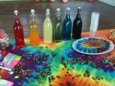 Hippie Party Food Ideas | Themed party ideas for 4 y/o DD - Parties for Under 5s - Essential ...
