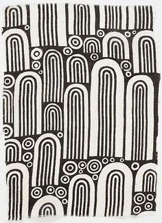 Wiener Werkstätte No 534, silk, 1910-1912, Josef Hoffmann, Wasserorgel / Hydraulic organ