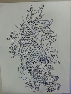 Koi Dragon.