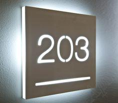 Apir Door number cut