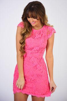 RESTOCK: Always & Forever Dress: Flamingo
