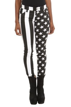 Put+Old+Glory+on+your+body+with+these+stretchy+skinny+jeans.+Classic+5-pocket+styling.