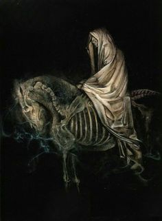 The four horsemen of the Apocalypse (Death) - Dave McKean.