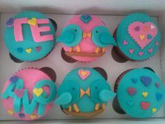 Que viva el amor #cupcakes #tortaspersonalizadas #postres