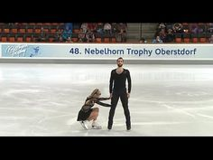 Nebelhorn Trophy 2016. Pairs - SP. Ashley CAIN / Timothy LEDUC  6th Place after SP.
