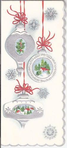 love vintage Christmas cards