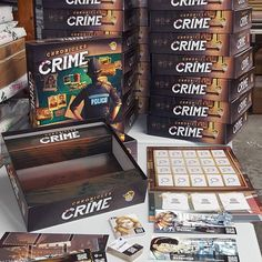Do you want to know what I'm working on right now at my job at Lucky Duck Games? We are creating this super dope game - Chronicles of Crime where you can solve crime cases! It's a board game with a touch of virtual reality. For more info you can join official facebook group! Chronicles of Crime will be launch on Kickstarter on 27th February! ______ #chroniclesofcrime #luckyduckgames #vr #boardgame #crime #tabletopgame #investigation #everydayiplay #kickstarter @dawid.w.cichy #indiegame #bbg…