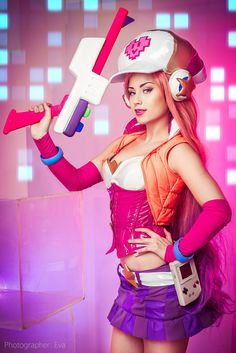 Arcade Miss Fortune - Angelica(Lolibel) Miss Fortune Cosplay Photo - Cure WorldCosplay