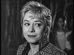 Giulietta Masina, in a still from the final frames of Nights of Cabiria (1957)