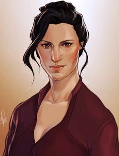 """rhetoricalrogue: """" Ravena Trevelyan: intrepid Chantry field researcher and scholar turned Herald of Andraste. She's often found in a library or a secluded tavern corner, busily writing on her expedition findings. Reluctant fan of over-the-top romance..."""