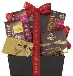 Begin the Year of the Horse on a blissful note. #Chinesenewyear #Godiva #Chocolate #Yorkdale