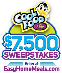 Everyone loves gift cards! Win an Amazon Gift Card or other great prizes with our Cool Food for Kids $7,500 Sweepstakes!!