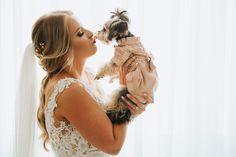 We are Peter and Ivana Miller Bridal Poses, Bride Portrait, Destination Wedding Photographer, Brides, Dog, Wedding Dresses, Inspiration, Fotografia, Diy Dog