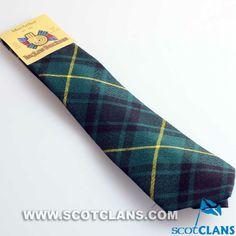 Clan MacArthur Modern Tartan Tie