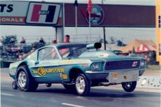 """Ohio"" George Montgomery's -The Malco Gasser - 1969 Ford Mustang"