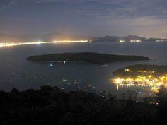 Porto Belo City by night - Santa Catarina State - Brazil