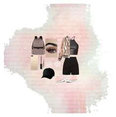 """""""night out"""" by bautista-alejandra ❤ liked on Polyvore featuring Sans Souci, Converse, Henri Bendel, Burberry and Flexfit"""