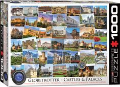 Globetrotter Collection : Castles & Palaces Jigsaw Puzzles at Eurographics