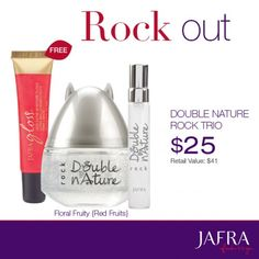 Go bold with dazzling gloss and a fun fragrance.  http://jafra.me/33tq