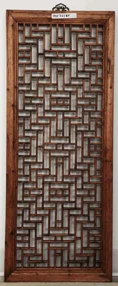 Ideas Chinese Screen Panel Asian Interior For 2019 Wooden Screen Door, Metal Screen, Wooden Doors, Asian Furniture, Chinese Furniture, Stencil, Style Asiatique, Partition Screen, Asian Interior
