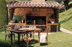 Como organizar o espaço da churrasqueira  #décor #Decoração #decoraçãodemesa #Mesaposta #Organização #Receber