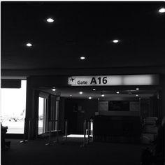 Newark Airport. Feels like I'm here every other week.