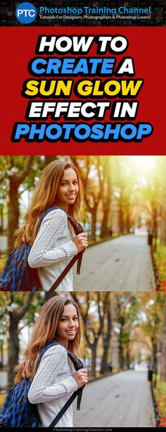 Photoshop tutorial showing you how to create the sun flare effect.