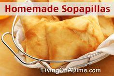 Homemade Sopapillas Recipe