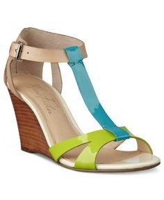 Marc Fisher Shoes Bulan Wedge Sandals Women's | Shoes and Footwear