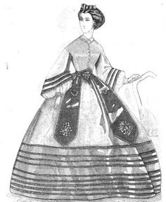 Ladies Of The 1860s: Peterson's Magazine for June 1862
