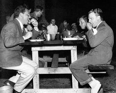 Spencer Tracy & James Cagney late 1930's