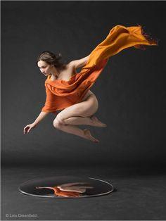 Idea of movement – Les photographies légères et aériennes de Lois Greenfield