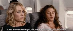 Pin for Later: The 12 Types of Moms You Meet on a Plane The Nervous Flyer Funny Movies, Scary Movies, Good Movies, Tv Quotes, Movie Quotes, Movies Showing, Movies And Tv Shows, Bridesmaids Movie, Scary Movie Characters